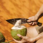 Benefits of eating raw coconut